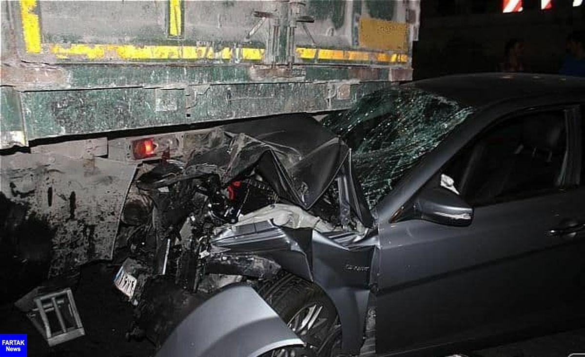 یک کشته و ۵ زخمی در حادثه رانندگی اسلام آبادغرب