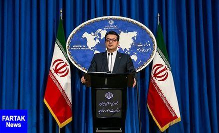 سخنگوی وزارت خارجه ارائه تعهد برای آزادی نفتکش گریس-۱ را تکذیب کرد