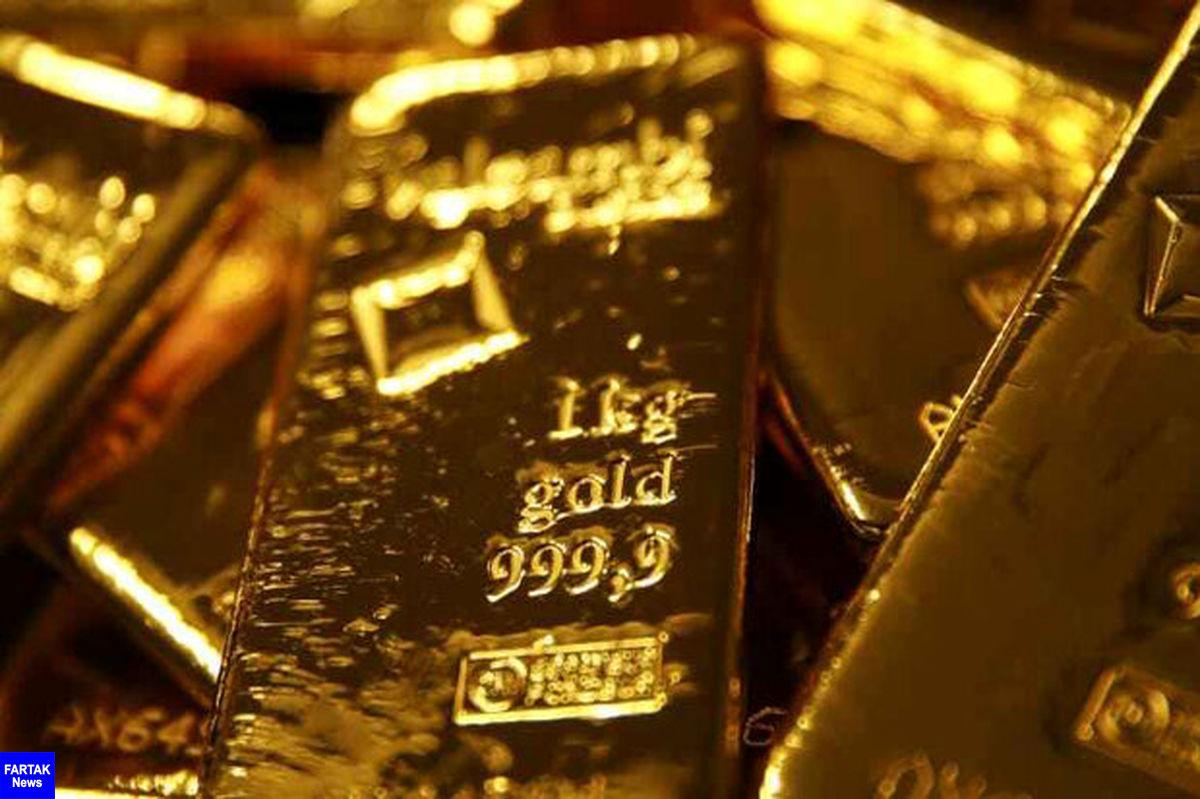 قیمت جهانی طلا در بالاترین سطح ۴ هفته اخیر