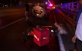 بیاحتیاطی راننده پراید حادثه ساز شد/ موتور سوار فوت کرد