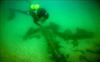 کشف لاشه یک کشتی قدیمی باری در پرتغال + فیلم