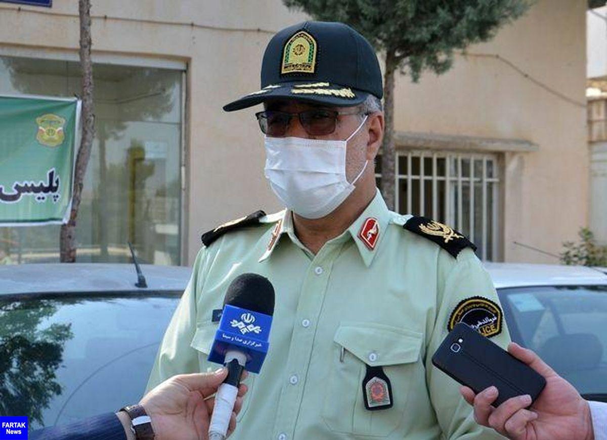  شکار عقاب های پایروند توسط پلیس کرمانشاه/ دستگیری هر 4 عضو باند