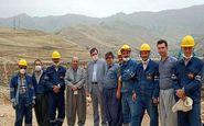 بازدید سرزده مدیرعامل شرکت توزیع برق استان کرمانشاه از پروژه های برق رسانی
