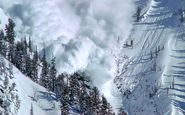 خطر ریزش کوه در محورهای هراز فیروزکوه و چالوس