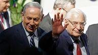 درخواست فریدمن از رژیم صهیونیستی برای تسریع در اجرای پرونده الحاق کرانه باختری