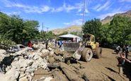 سیلاب در قلعه گنج کرمان 2 میلیارد ریال خسارت بر جا گذاشت