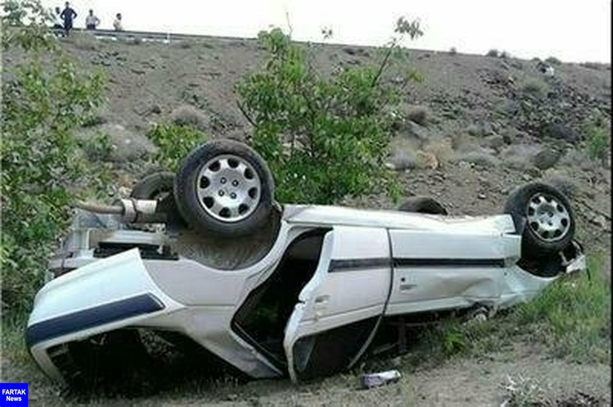 سانحه رانندگی در محور بیستون 2 کشته و زخمی به جا گذاشت