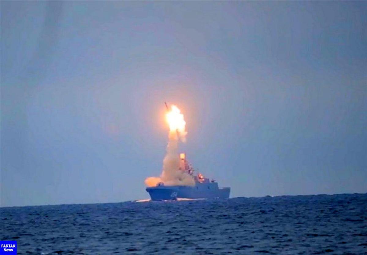 موشک مافوق صوت روسیه در دریای سفید با موفقیت پرتاب شد