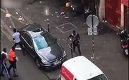 درگیریهای خیابانی و تخریب یک فروشگاه در پاریس پس از قهرمانی فرانسه در جام جهانی + فیلم
