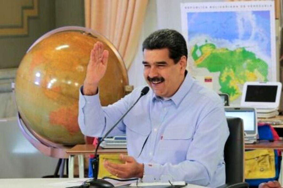 رئیس جمهور ونزوئلا : متشکرم ایران