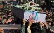 پیکر خلبان امدادگر شهید در شیراز تشییع شد