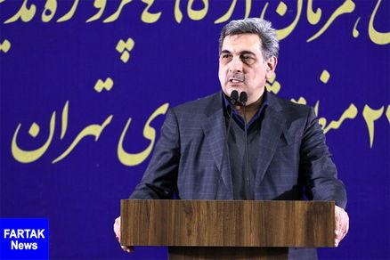 شهردار تهران 20 طرح عمرانی را در منطقه 6 افتتاح کرد