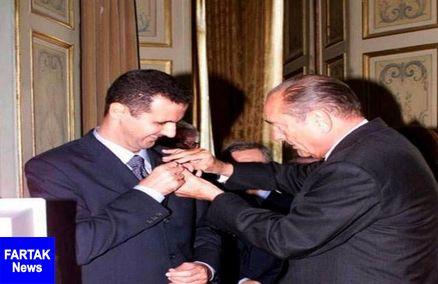 پاریس نشان شوالیه را از اسد پس میگیرد
