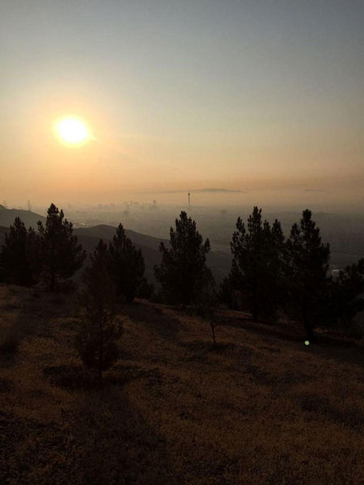 آلودگی هوا  تهران به داد کرونا رسید
