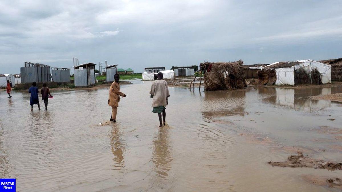 سیل در سودان حداقل ۱۰۰ کشته بر جا گذاشت