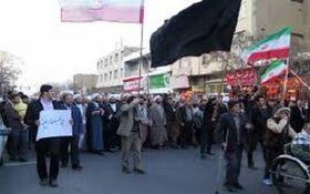 خروش مردم زنجان علیه آشوبگران + فیلم