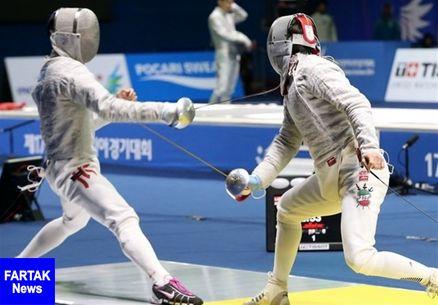 در مسابقات شمشیربازی قهرمانی جوان و نوجوانان آسیا تیم سابر ایران به مدال برنز رسید