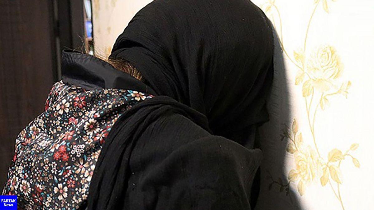 کار زشت دختر فیروزآبادی با مادرش