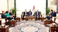 دیدار نوری مالکی با مسئول امور ایران و عراق در وزارت خارجه آمریکا
