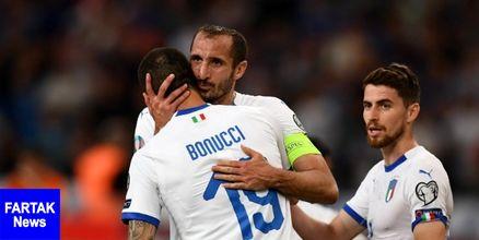 مانچینی ترکیب 11 نفره ایتالیا را اعلام کرد