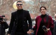 کریس رونالدو و همسرش دست در دست هم به سمت دادگاه مادرید