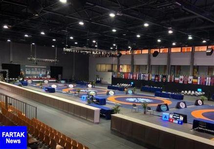 ۲ مدال طلا و نقره برای ایران در رقابت های کشتی فرنگی جایزه بزرگ مجارستان