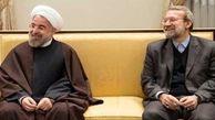 روحانی خطاب به لاریجانی: از همراهیها و همدلیها با دولت تدبیر و امید صمیمانه سپاسگزارم