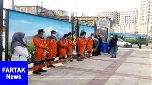 معاینه روزانه پاکبانان شهر/ حمایت از رفتگران با رها نکردن دستکش و ماسک در معابر