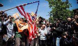 تظاهرات خشم تهرانی ها علیه آمریکا و رژیم صهیونیستی