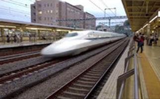 سرعت قطارهای سریعالسیر ژاپن را ببینید