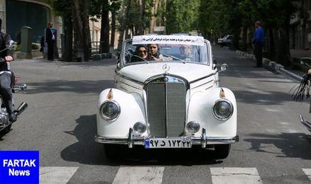 خودروهای تاریخی فردا در تهران رژه میروند