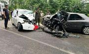 یک کشته بر اثر تصادف شدید جاده ماسال- طاهرگوراب