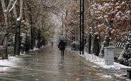 بارش برف و باران در ۷ استان/پیشنهاد اعمال محدودیت ترافیکی ۲ روزه در تهران