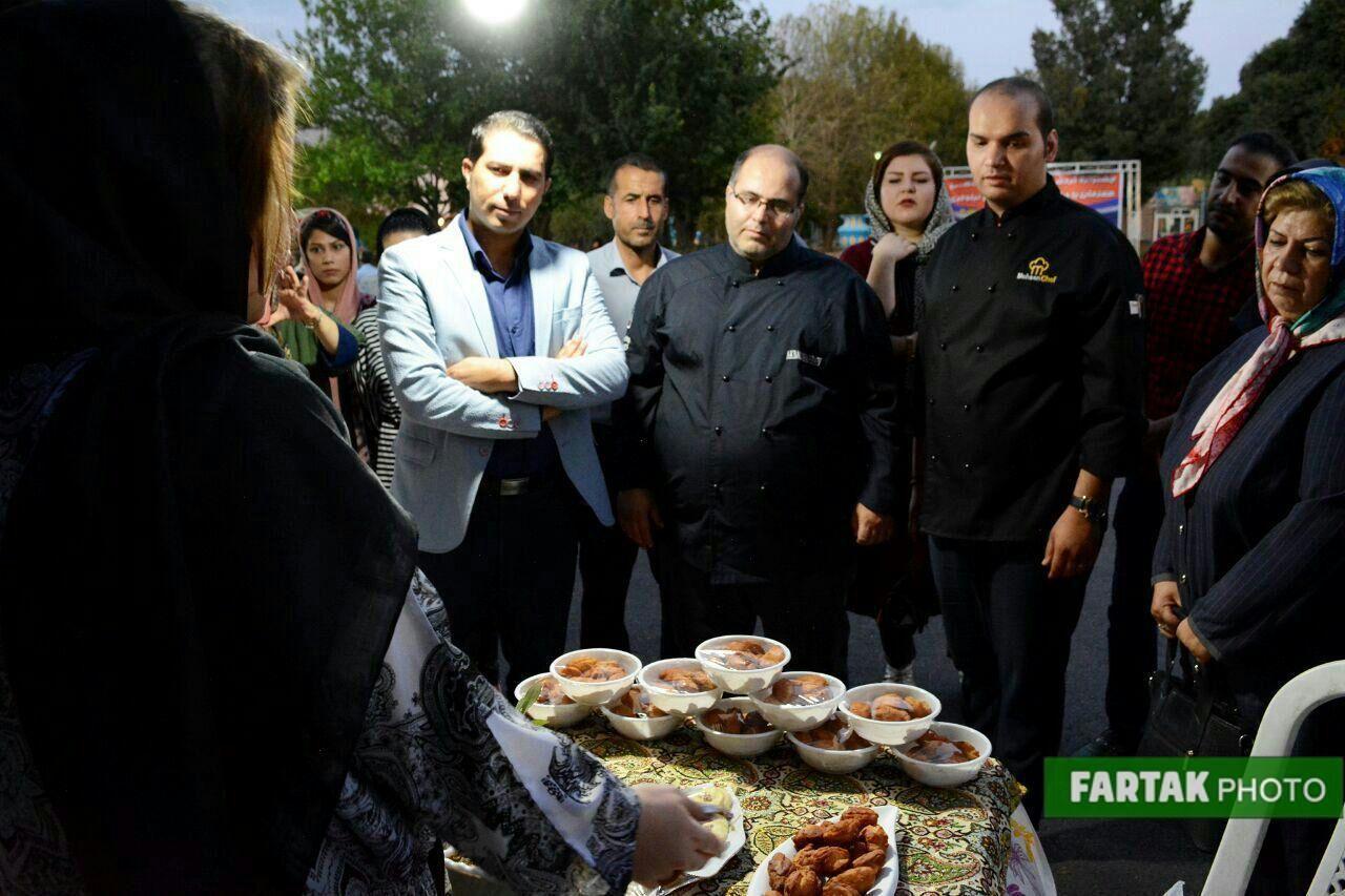 جشنواره گردشگری خوراک کرمانشاهی در شهر بازی