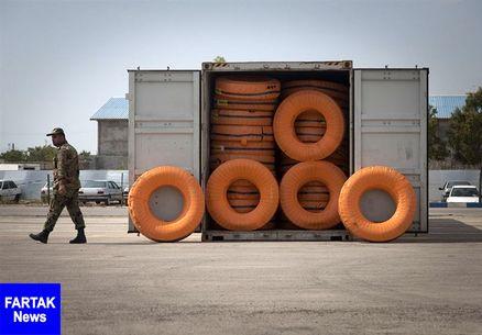 165 حلقه لاستیک قاچاق در کرمانشاه کشف شد