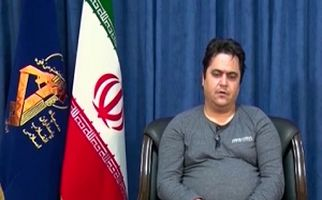 اولین تصاویر بازداشت و اعترافات روحالله زم