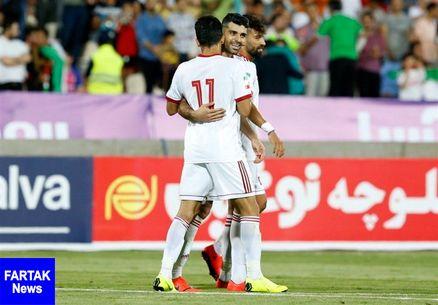 توئیت AFC در واکنش به پیروزی ایران مقابل سوریه