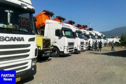 خبر خوش برای کامیون داران: تصویب تعیین کرایه بر اساس تن-کیلومتر