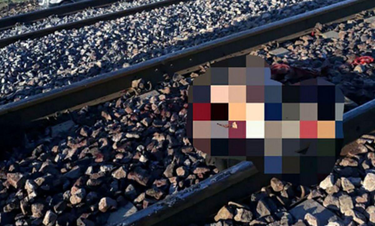 نوجوان 13 ساله زیر چرخ های قطار له شد