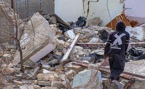 زلزله شهرستان