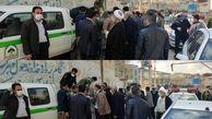 توزیع  ۲۵۰۰نهال رایگان در محل برگزاری نماز جمعه درشهر سرابله