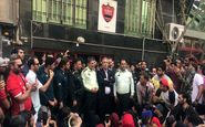 حضور ایرج عرب در میان معترضان بعد از 3 روز
