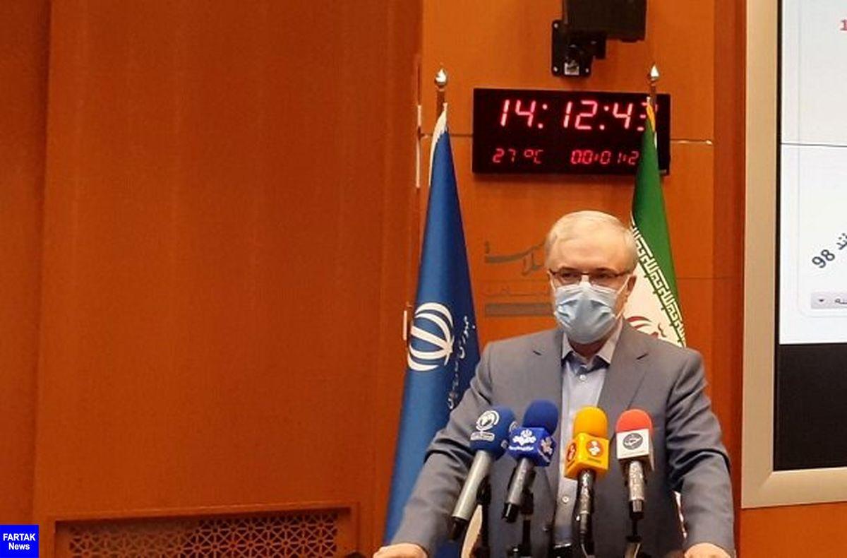 وزیر بهداشت ازتزریق واکسن ایرانی کرونا به مردم از هفته آینده خبر داد