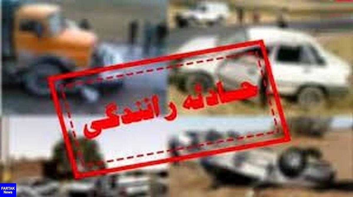 تصادف پراید با کامیونت در محور راز-بجنورد ۲ کشته داشت