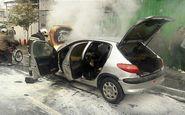 مأمور انتظامی مانع از انفجار خودرو در اشتهارد شد