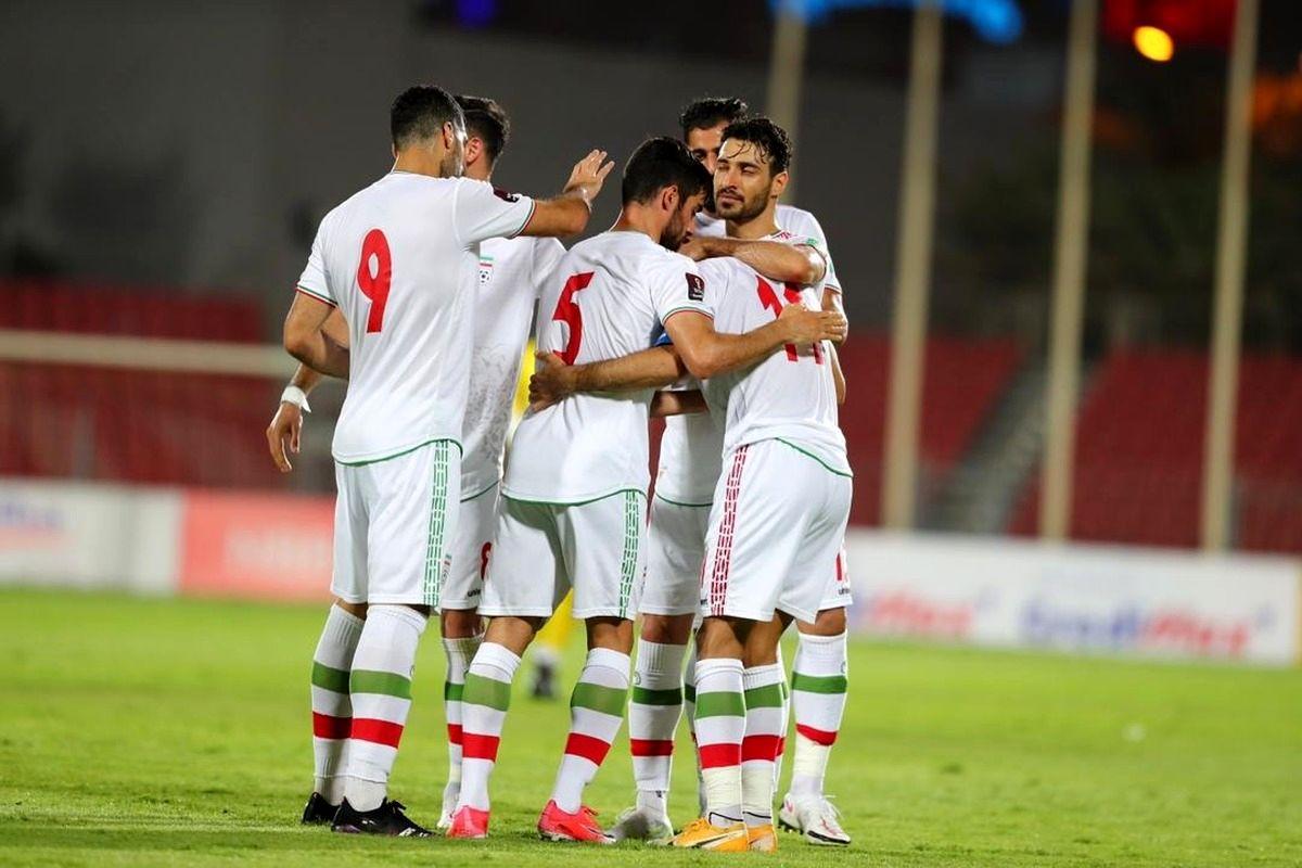 توقف ایران مقابل بحرین در پایان نیمه اول