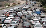 ترافیک سنگین در محورهای شرق استان تهران