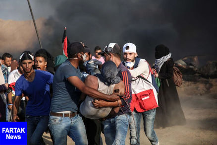 حمله وحشیانه رژیم صهیونیستی به تظاهرات بازگشت در غزه