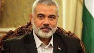 پیام تبریک اسماعیل هنیه به رهبر معظم انقلاب به مناسبت سالروز پیروزی انقلاب اسلامی ایران