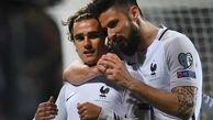 حمایت گریزمان از ژیرو: او به ما کمک کرد فاتح جام جهانی شویم
